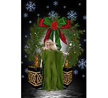 A  Pagan Christmas Photographic Print