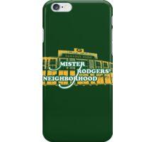 Mister Rodgers' Neighborhood iPhone Case/Skin