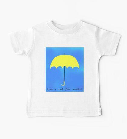The Yellow Umbrella Baby Tee