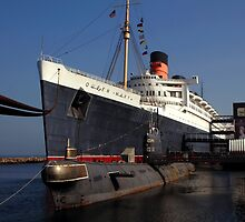 Queen Mary Long Beach by kuumbalion