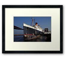 Queen Mary Long Beach Framed Print