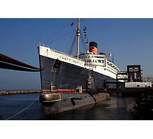 Queen Mary Long Beach Photographic Print