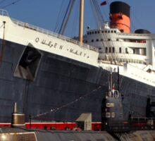 Queen Mary Long Beach Sticker