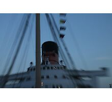 Queen Mary Time Warp Photographic Print