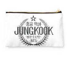 Jungkook - BTS Member Logo Series (Black) Studio Pouch