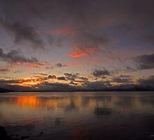 Sunset by Frank Olsen