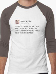 bill nye tho Men's Baseball ¾ T-Shirt