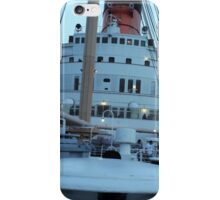 Queen Mary Superstructure  iPhone Case/Skin