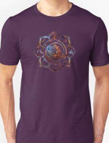 Om Lotus Flower Yoga Poses Unisex T-Shirt