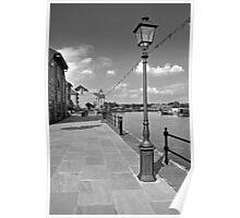 The Promenade, Barton Marina Poster