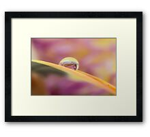Wave of Seamless Light Framed Print