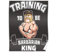 TRAINING TO BE BARBARIAN KING 2 Poster