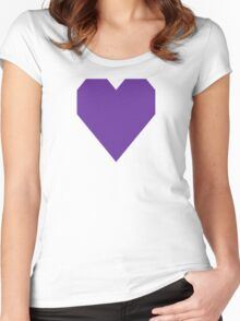 Purple Heart Women's Fitted Scoop T-Shirt