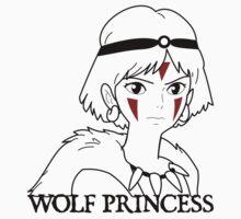 Wolf Princess Baby Tee