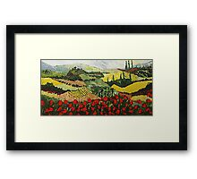 Wild Patch Framed Print