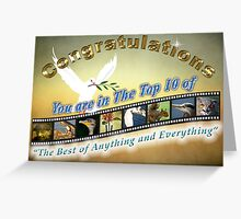 Top 10 of Best of Anything and Everything Greeting Card