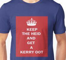 Glaswegian Keep Calm and Carry On T-Shirt Unisex T-Shirt