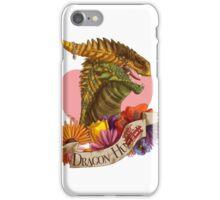 Dragon Hugger (Light) iPhone Case/Skin