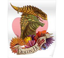 Dragon Hugger (Light) Poster