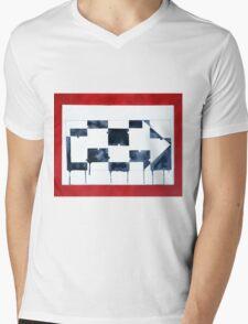 One Way Mens V-Neck T-Shirt