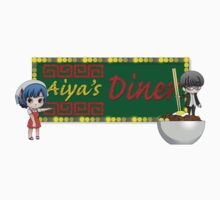 Aiya's Diner One Piece - Short Sleeve