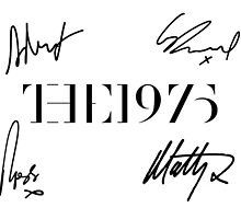 The 1975 + Signatures  by madeoflightingg