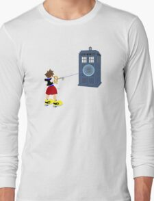 Sealing the TARDIS Long Sleeve T-Shirt