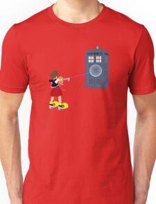 Sealing the TARDIS Unisex T-Shirt
