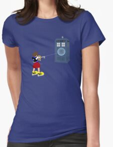 Sealing the TARDIS Womens Fitted T-Shirt