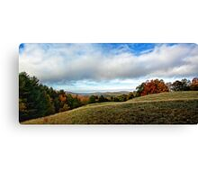 Fall - Foothills of Maine Canvas Print