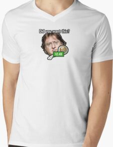 GabeN - Did you want this? Mens V-Neck T-Shirt
