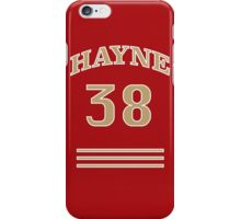 Hayne (curved) 38 iPhone Case/Skin