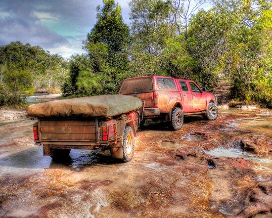 Rocky Creek Crossing by Luke Griffin