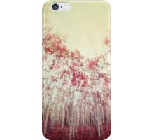 The Red Forest iPhone Case/Skin