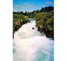 Haku Falls New Zealand Photographic Print