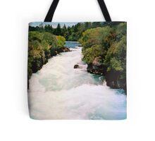 Haku Falls New Zealand Tote Bag