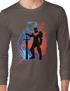 Super Smash Bros. Ike Silhouette Long Sleeve T-Shirt
