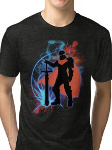 Super Smash Bros. Ike Silhouette Tri-blend T-Shirt