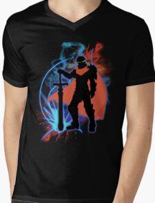 Super Smash Bros. Ike Silhouette Mens V-Neck T-Shirt