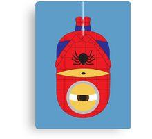 minions as spider man Canvas Print