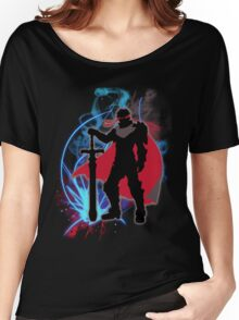 Super Smash Bros. Black Knight Ike Silhouette Women's Relaxed Fit T-Shirt