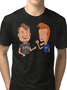Andy and Conan Tri-blend T-Shirt