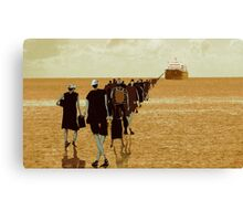 embarkation two Canvas Print