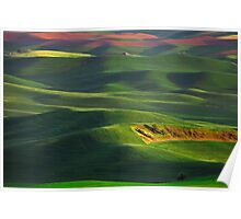Sunset on the Palouse Poster