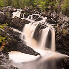 Rogie Falls, Nr Inverness, Scotland by Cliff Williams