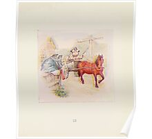 Cecily Parsley's Nursery Rhymes Beatrix Potter 1922 0023 This Pig Went to Market Poster
