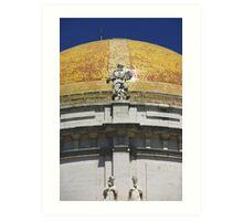 Cathedral of Cadiz - Golden Dome Art Print