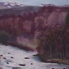 River Tummel, Scotland by TepeeArt