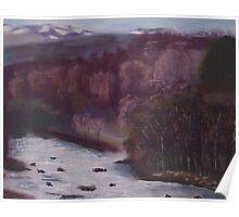 River Tummel, Scotland Poster