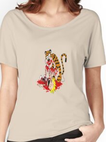 calvin and hobbes death Women's Relaxed Fit T-Shirt